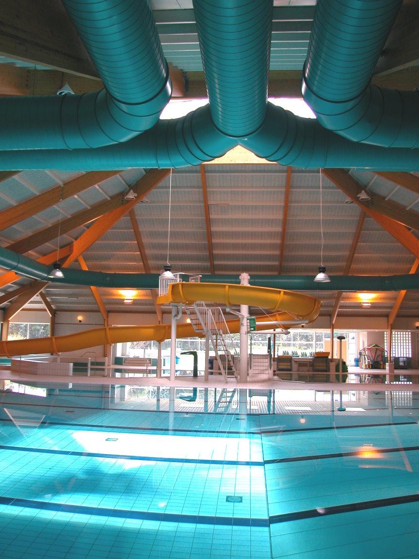 S gravenzande overdekt zwembad architectenbureau willem de groot apeldoorn - Zwembad omgeving ...